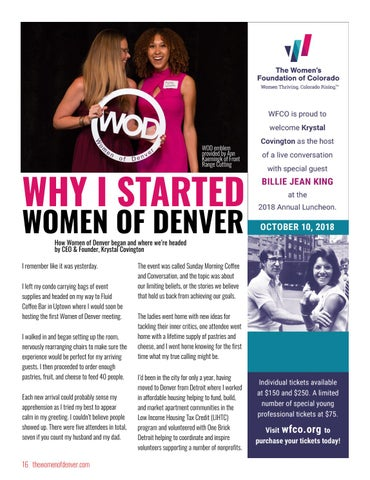 Page 16 of Why I Started Women of Denver
