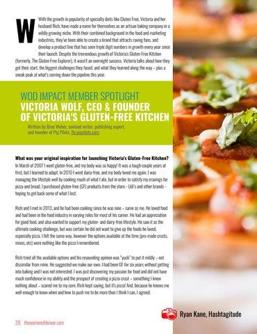 Page 28 of WOD Impact Member Spotlight: Victoria's Gluten Free Kitchen
