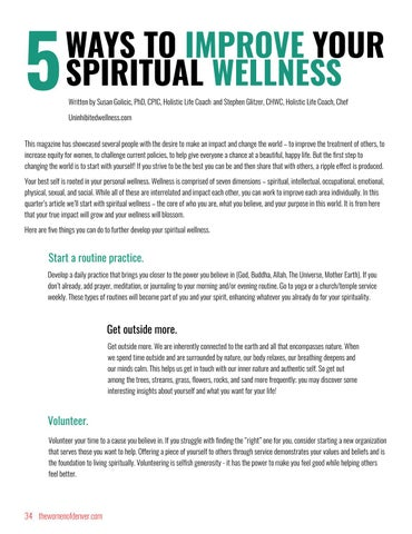Page 34 of 5 Ways to Improve Your Spiritual Wellness