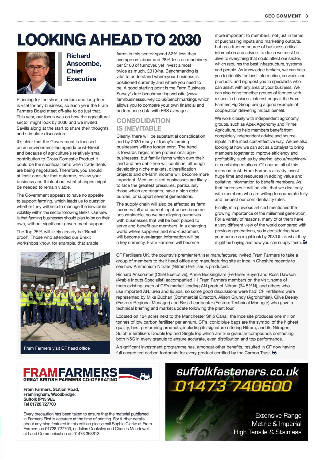 Farmers First Issue 48 - Summer 2018