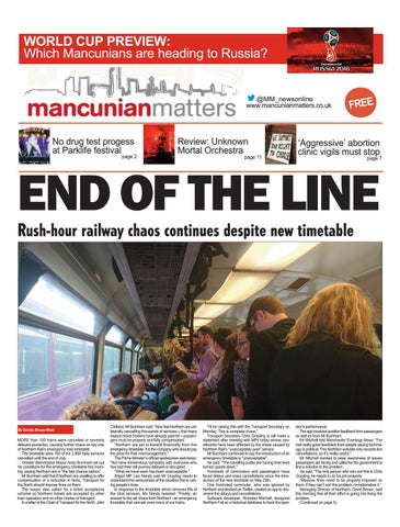 Mancunian Matters - e-edition June 2018 by Andrew Greaves