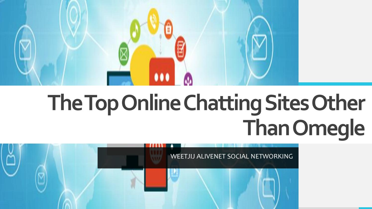 Top online chatting sites