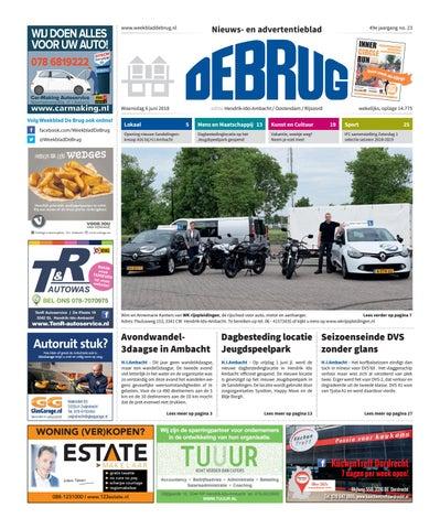 Weekblad De Brug Week 23 2018 Editie Hendrik Ido Ambacht By