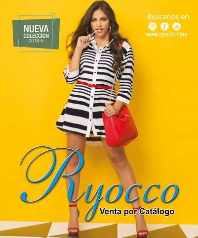 1a5b43ea39 Colección Ryocco 2018-5 by Ryocco Fashion - issuu