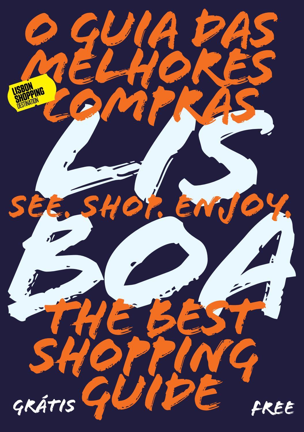 bb327bc62bc Guia das Melhores Compras Lisbon Shopping Destination by Café Pessoa - issuu