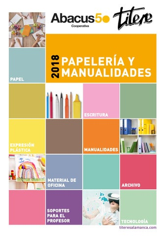 Catálogo Papelería y Manualidades Titere by Abacus cooperativa - issuu 85794168720