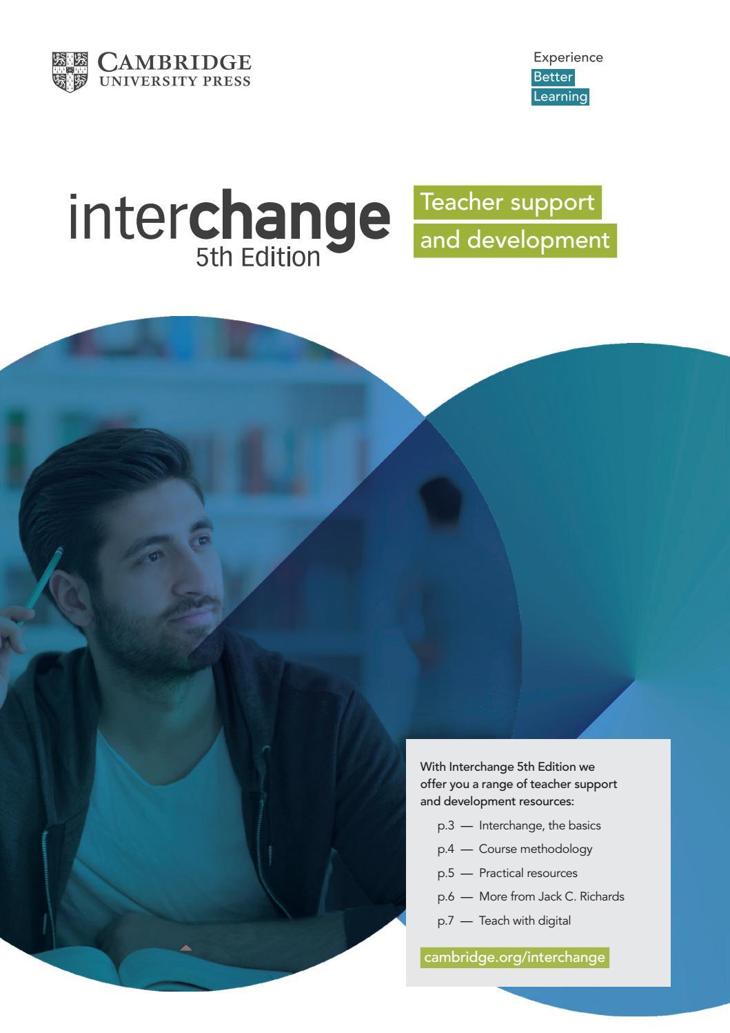 Interchange 5th Edition - Teacher support and development by