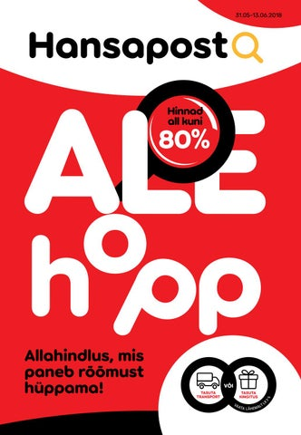 08cd6188904 Ale Hopp EST 06 2018 web by Hansapost OY - issuu