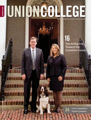 35a4fbf908c90f Union Magazine Spring 2018 by Union College - issuu