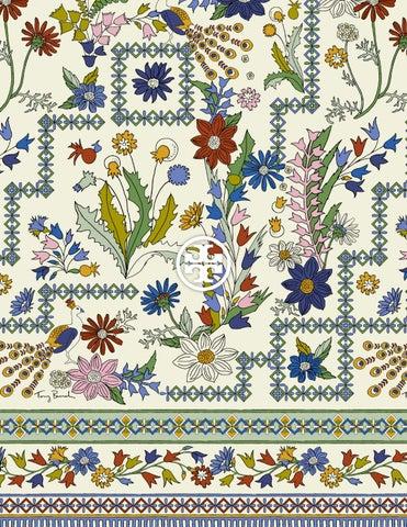 06b9fd3c4415 Feature  Meadow Folly Print by toryburch - issuu