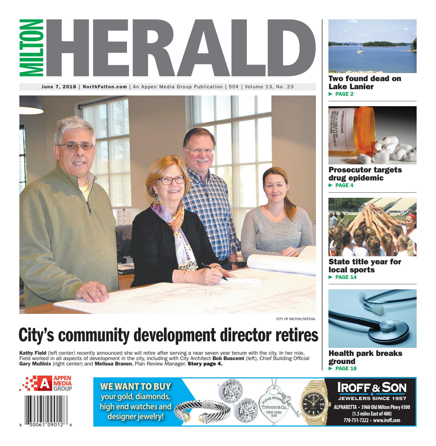 Milton Herald June 7 2018 By Appen Media Group Issuu Wiring Money Publix