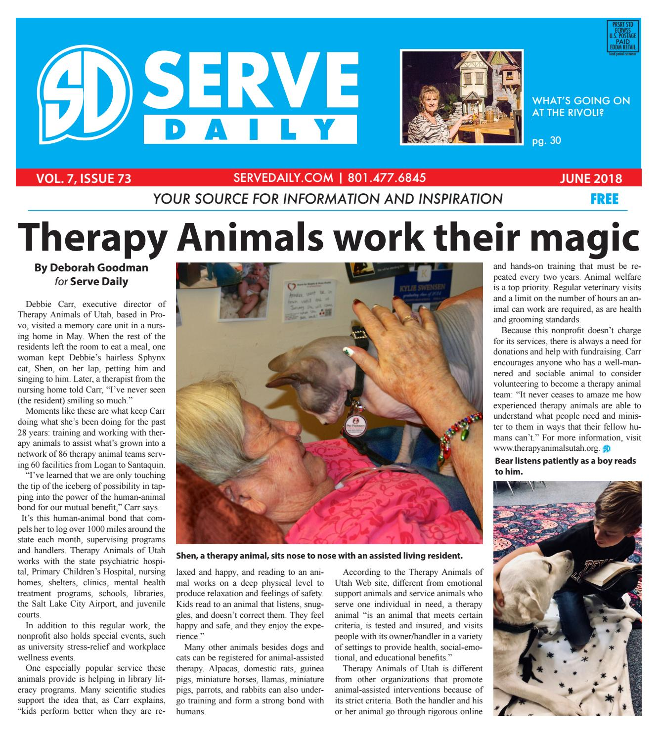 Serve Daily Volume 7, Issue 73 June 2018 by Serve Daily - issuu