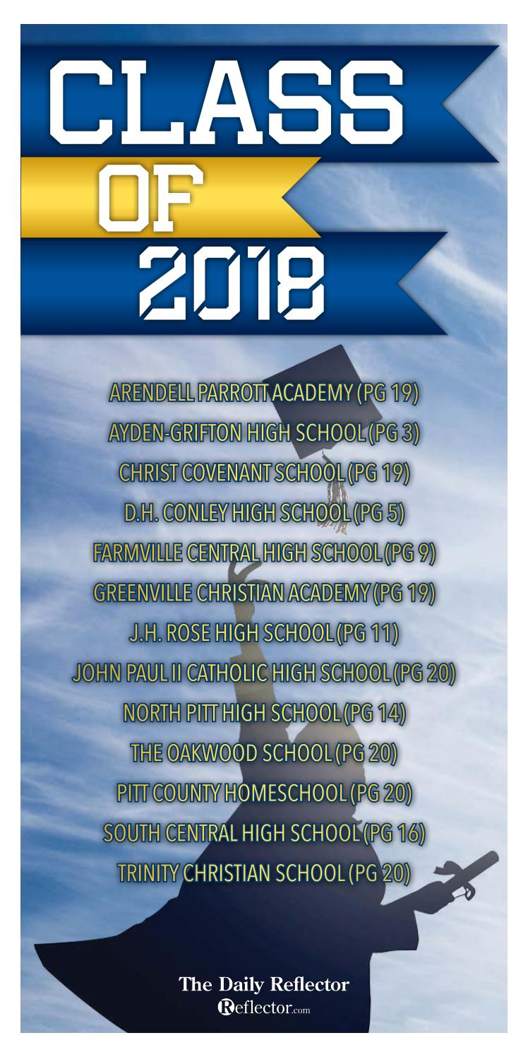 2018 Pitt County Graduation Tab by APG-ENC - issuu