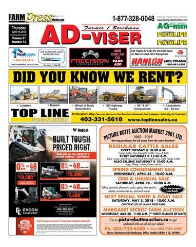 806992d4a046 Southern Alberta Advisor