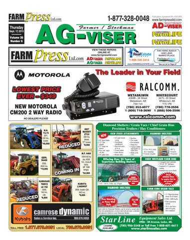Northern Alberta Agvisor, September 17, 2015 by Black Press Media