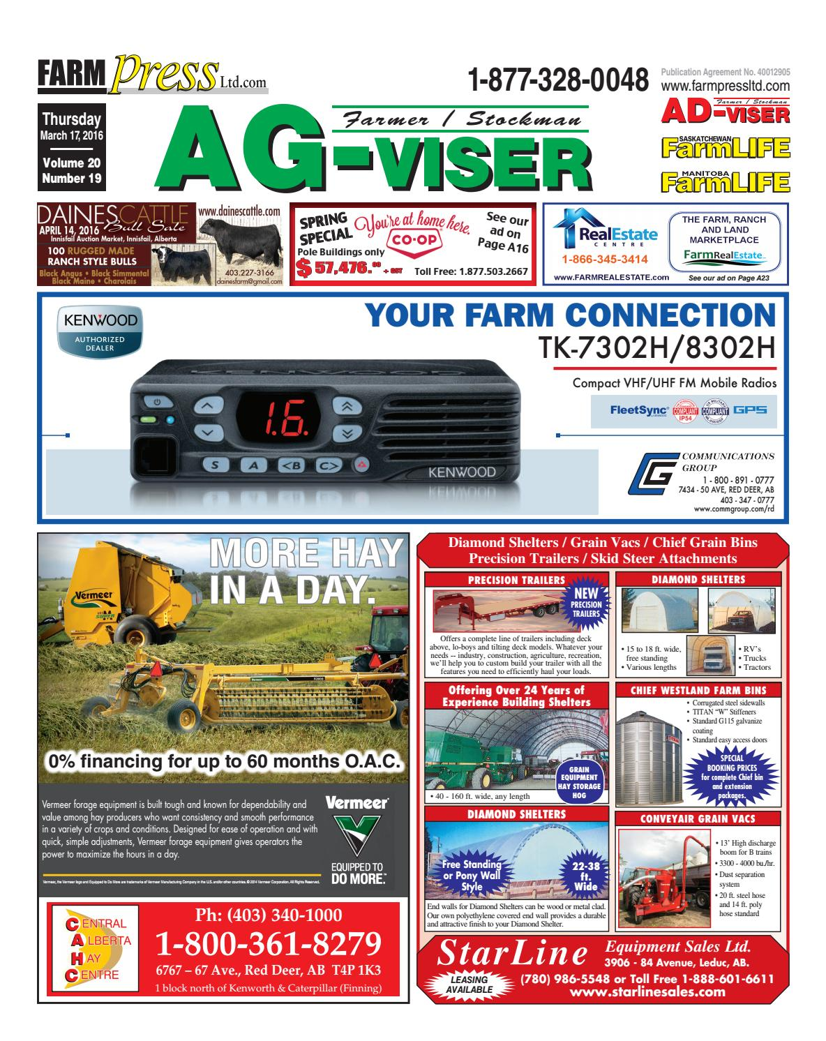 Northern Alberta Agvisor March 17 2016 By Black Press Issuu Trailer Light Wiring Harness 4 Flat 25ft To Redo Lights