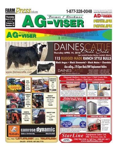 Northern Alberta Agvisor, March 31, 2016 by Black Press
