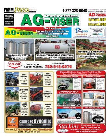 Northern Alberta Agvisor, August 17, 2017 by Black Press