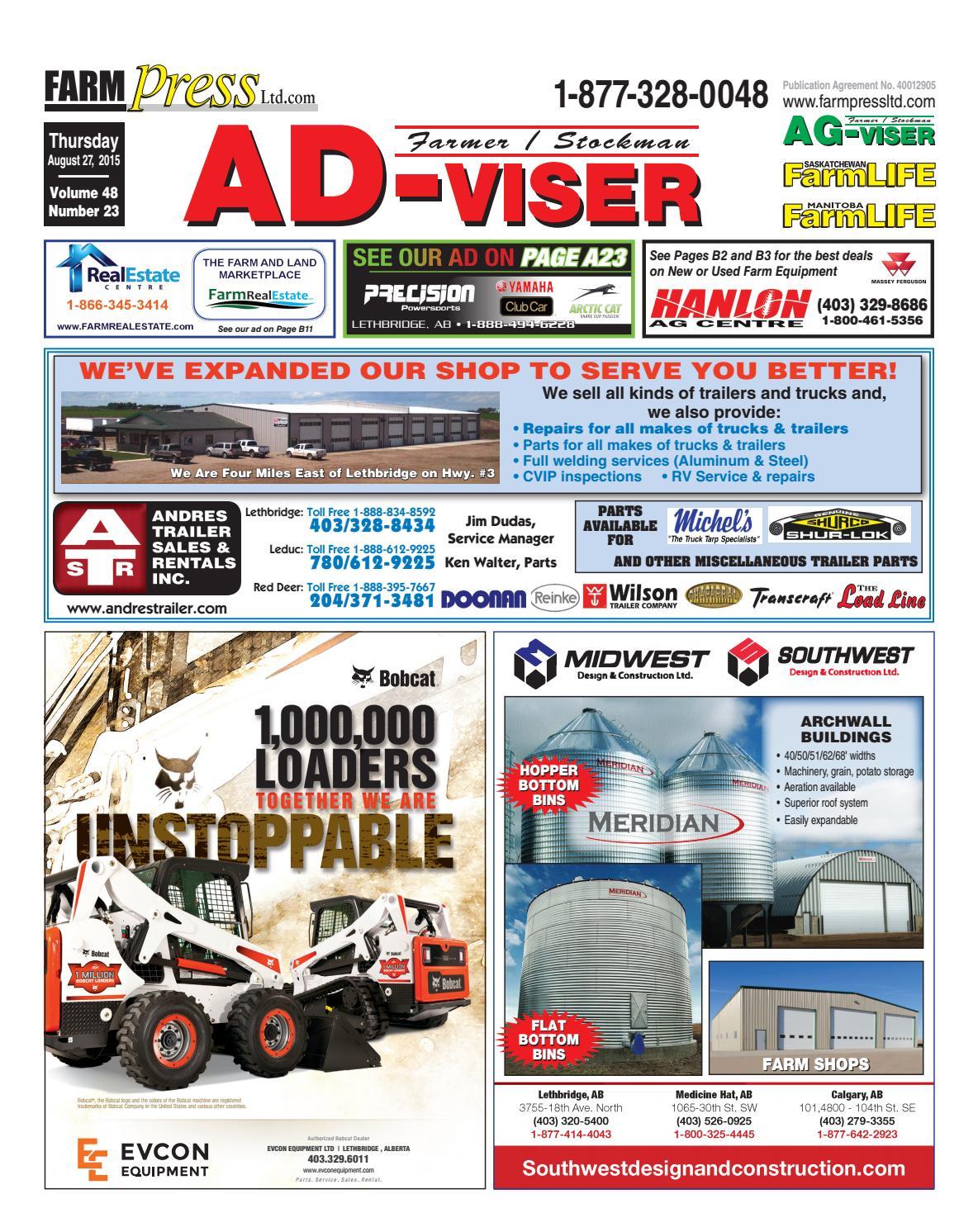 Southern Alberta Advisor August 27 2015 By Black Press Issuu Crane Ignition Wiring Diagram T300 Kenworth