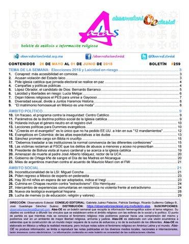 BOLETIN ALAS-OE 259 by Boletín Alas-OE - issuu