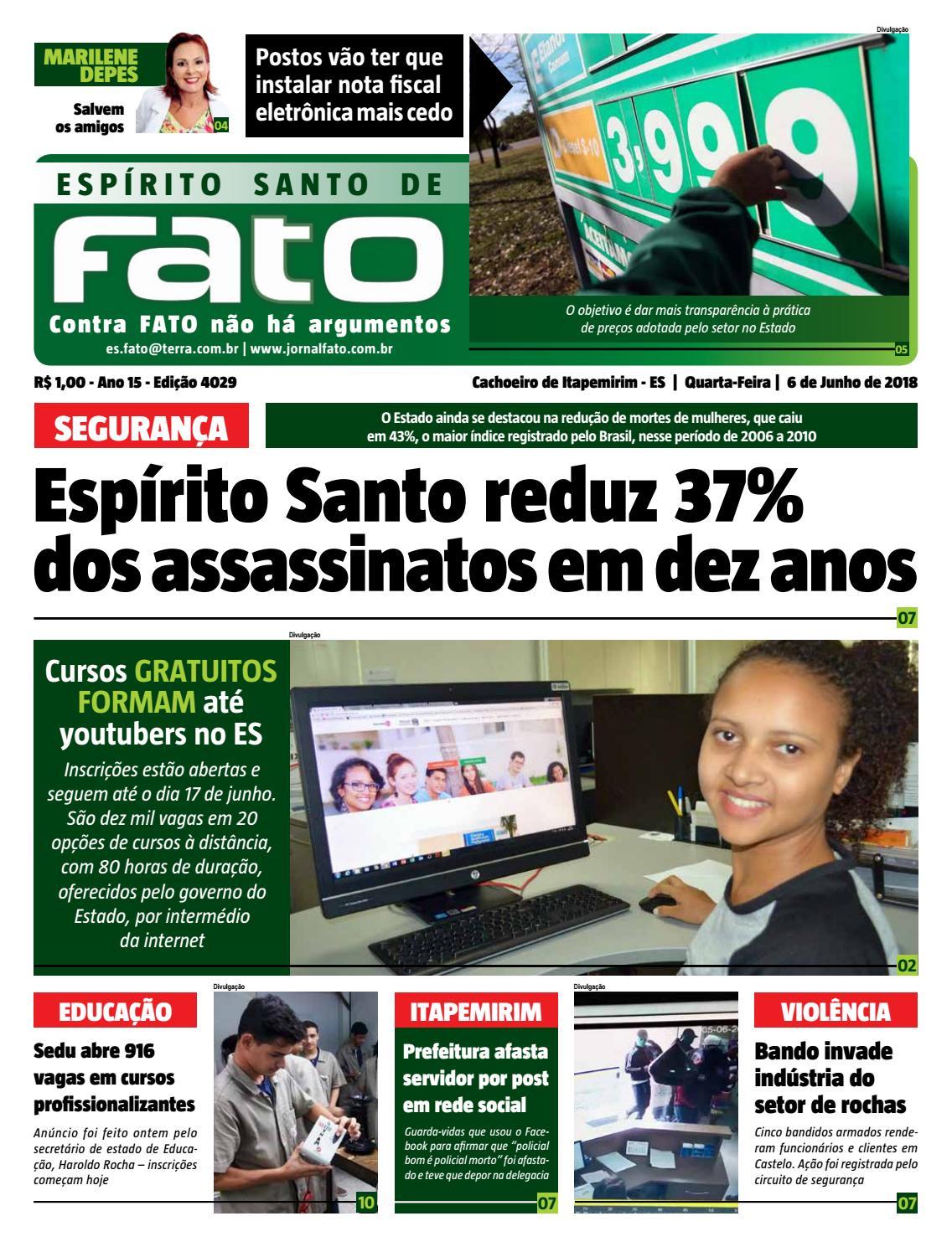 063a708ca42 Jornal fato 0606 18 by Jornal Fato - issuu
