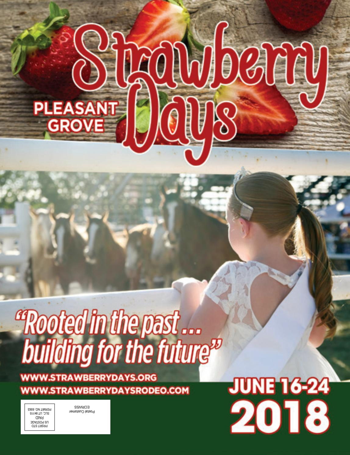2f3d8398ad8 Strawberry Days 2018 Magazine by Walker Productions / My City ...