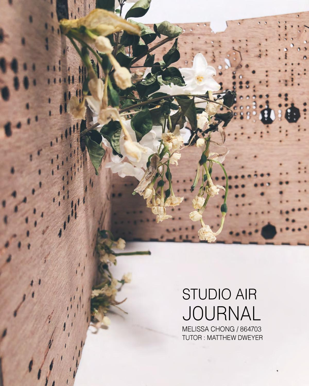 Architecture Design Studio Air Journal (ABPL30048) by