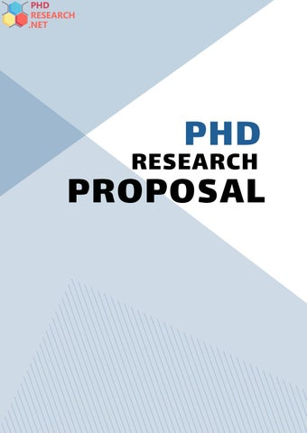 Phd research proposal for environmental science