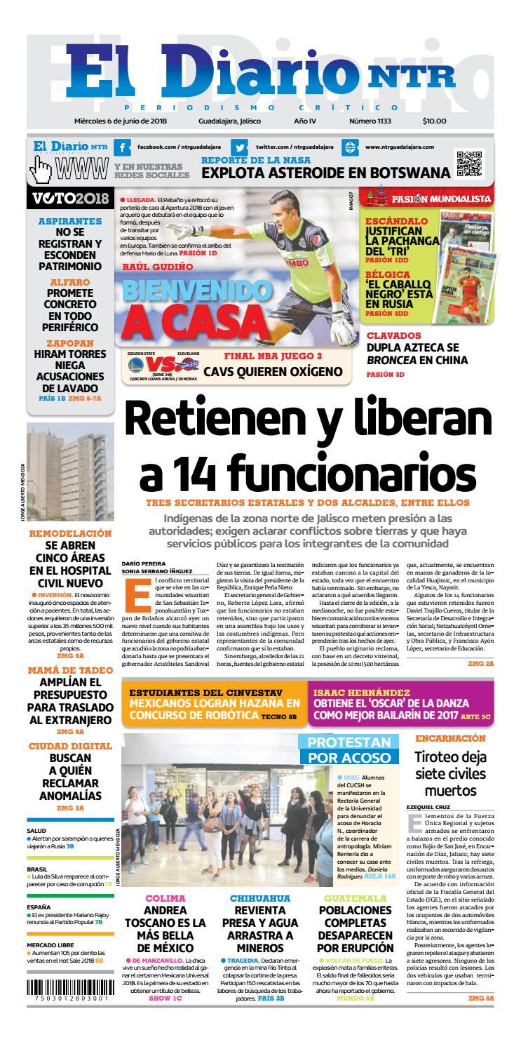 El Diario NTR 1133 by NTR Guadalajara - issuu