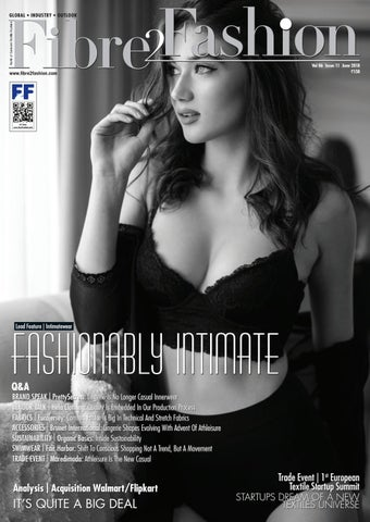 29d1ea70b5 Fibre2Fashion Magazine June 2018 by Fibre2Fashion - issuu