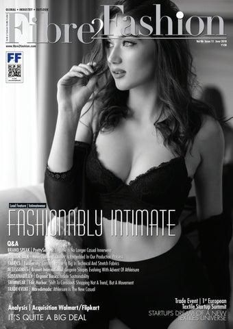 c34c375f6159f Fibre2Fashion Magazine June 2018 by Fibre2Fashion - issuu