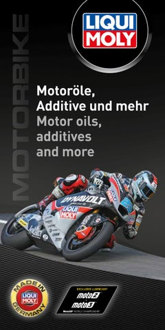 Oils & Additives by LIQUI MOLY GmbH - issuu