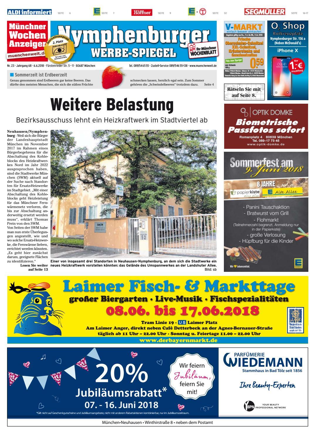 Kw 23 2018 By Wochenanzeiger Medien Gmbh Issuu