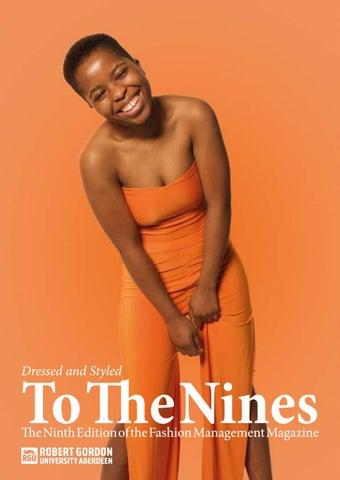 697878981e7 To The Nines - BA (Hons) Fashion Management Magazine 2018 (PDF 9.2MB ...