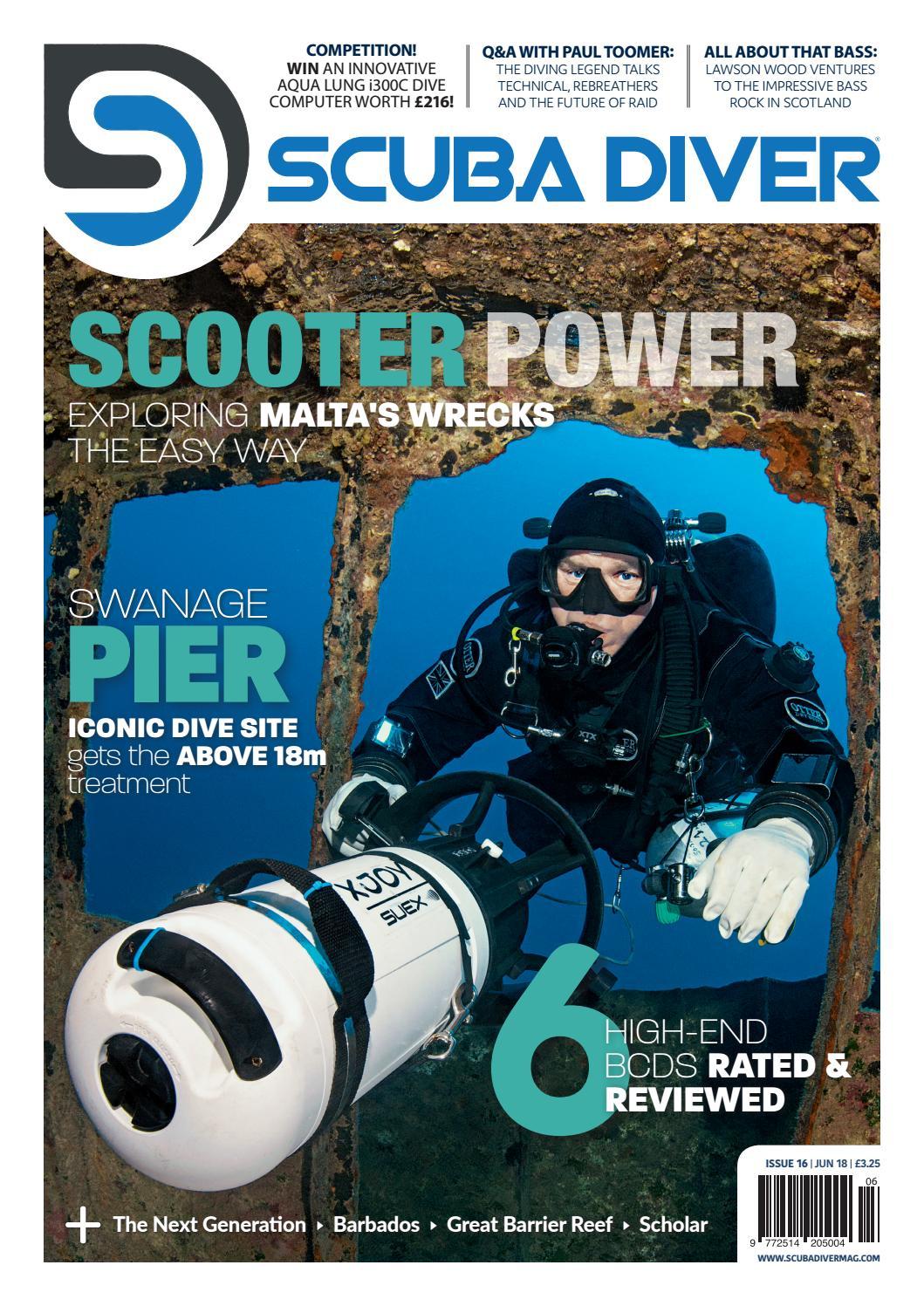 Scuba Issuu June By Uk Scubadivermag Diver Issue 18 16 rdtQhsC