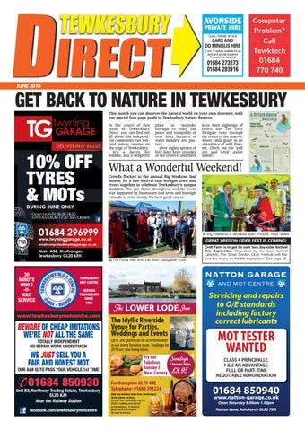 feddbc9043d Tewkesbury Direct Magazine June 2018 by Tewkesbury Direct Magazine ...