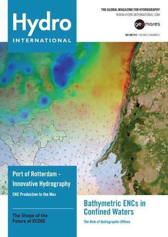 Hydro international may june 2018 by Geomares Publishing - issuu