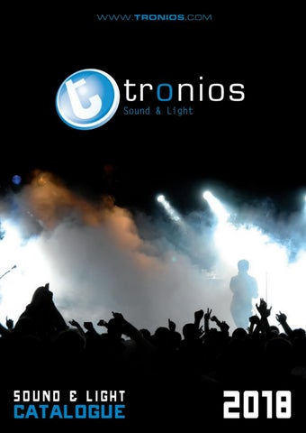 Sound & Light Catalogue 2018 English by Tronios BV - issuu