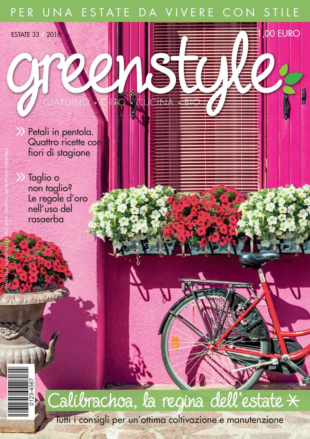 Fiori Di Stagione Settembre greenstyle estate 2018 by edizioni laboratorio verde - issuu