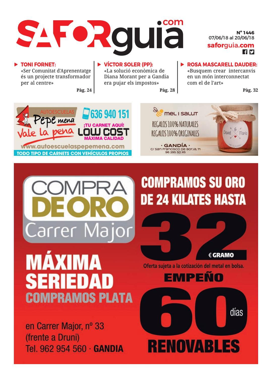 Nº 1446 - Del 7 al 20 de junio de 2018 by Saforguia MediaServiocio - issuu 9d09b9aeffdee