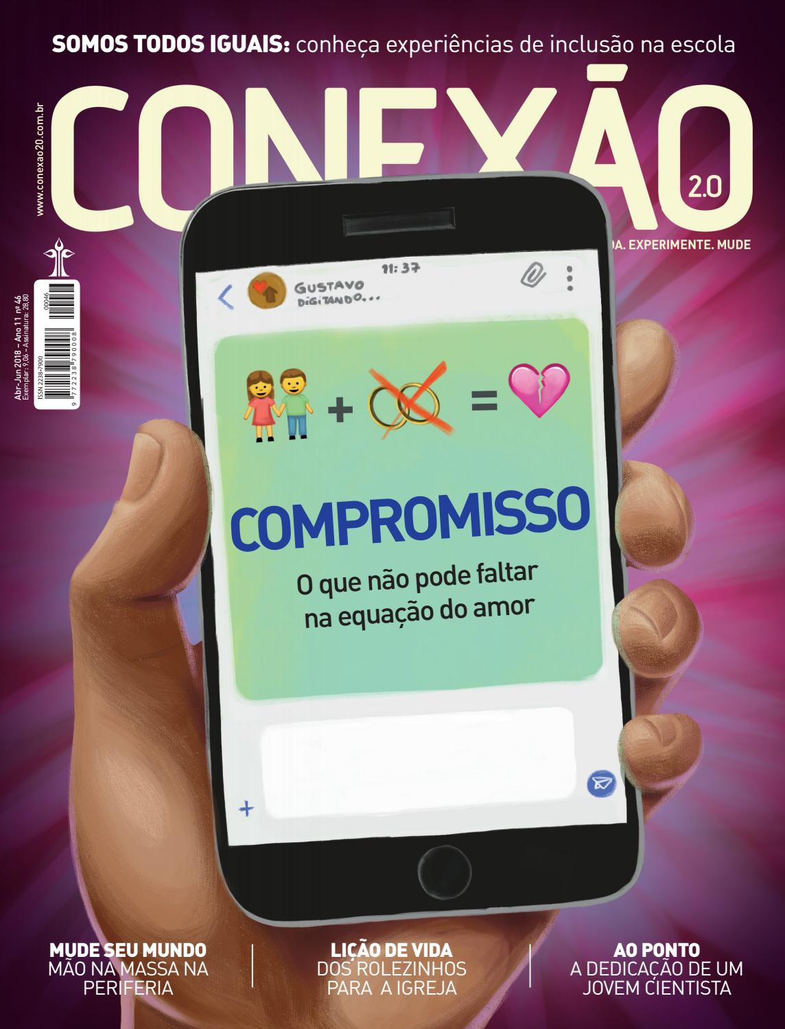 Conexão 2.0 - COMPROMISSO by Portal da Educação Adventista - issuu 49e07843941ea