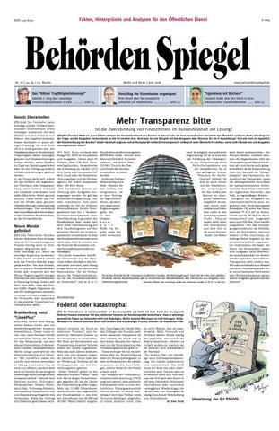 Behörden Spiegel Juni 2018 by propress - issuu