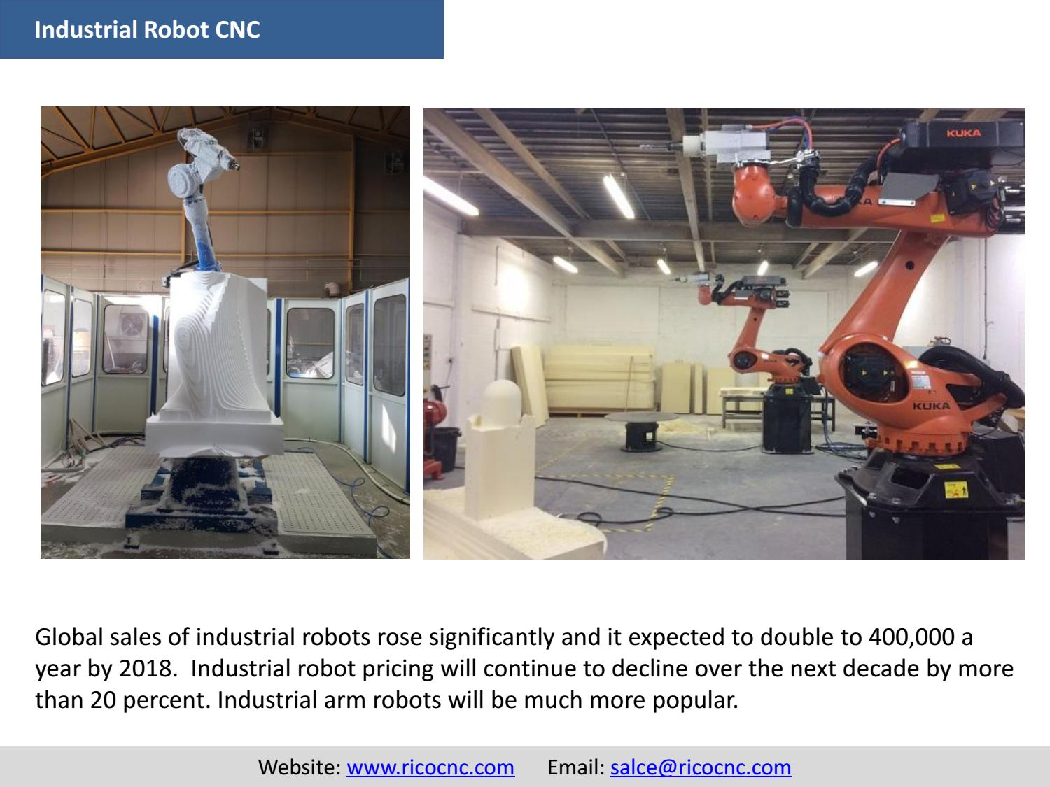 Industrial robot cnc equipment arm tooling ricocnc by Salce Smith