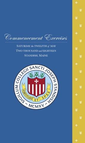 e2d20199378 2018 Commencement Program by Saint Joseph s College - issuu
