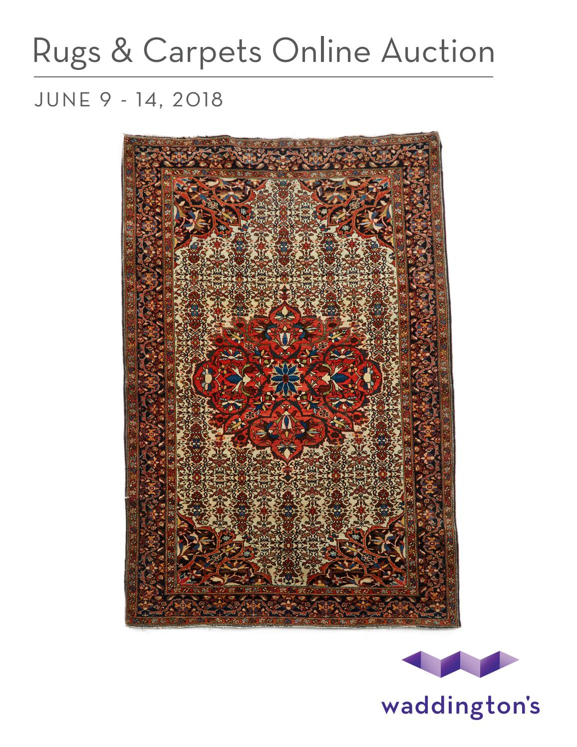 Rugs Carpets Online Auction Jun 9