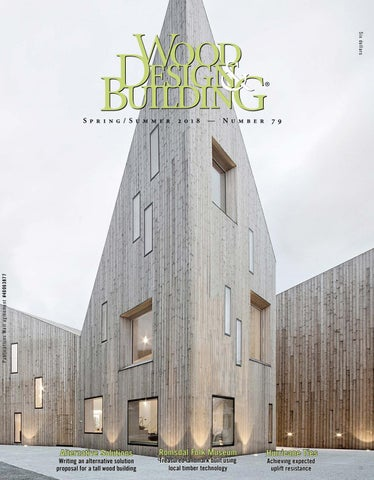 Wood Design Building Springsummer 2018 By Dovetail Communications