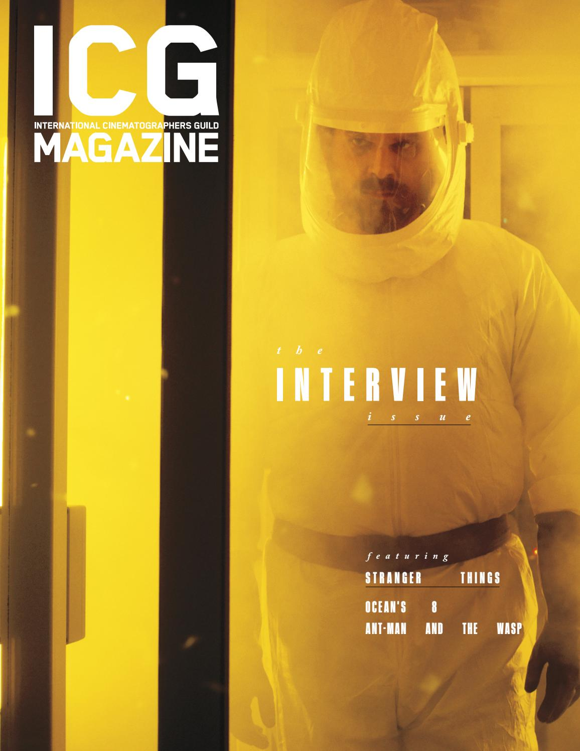 dfed73c1 ICG Magazine - June/July 2018 - The Interview Issue by ICG Magazine - issuu