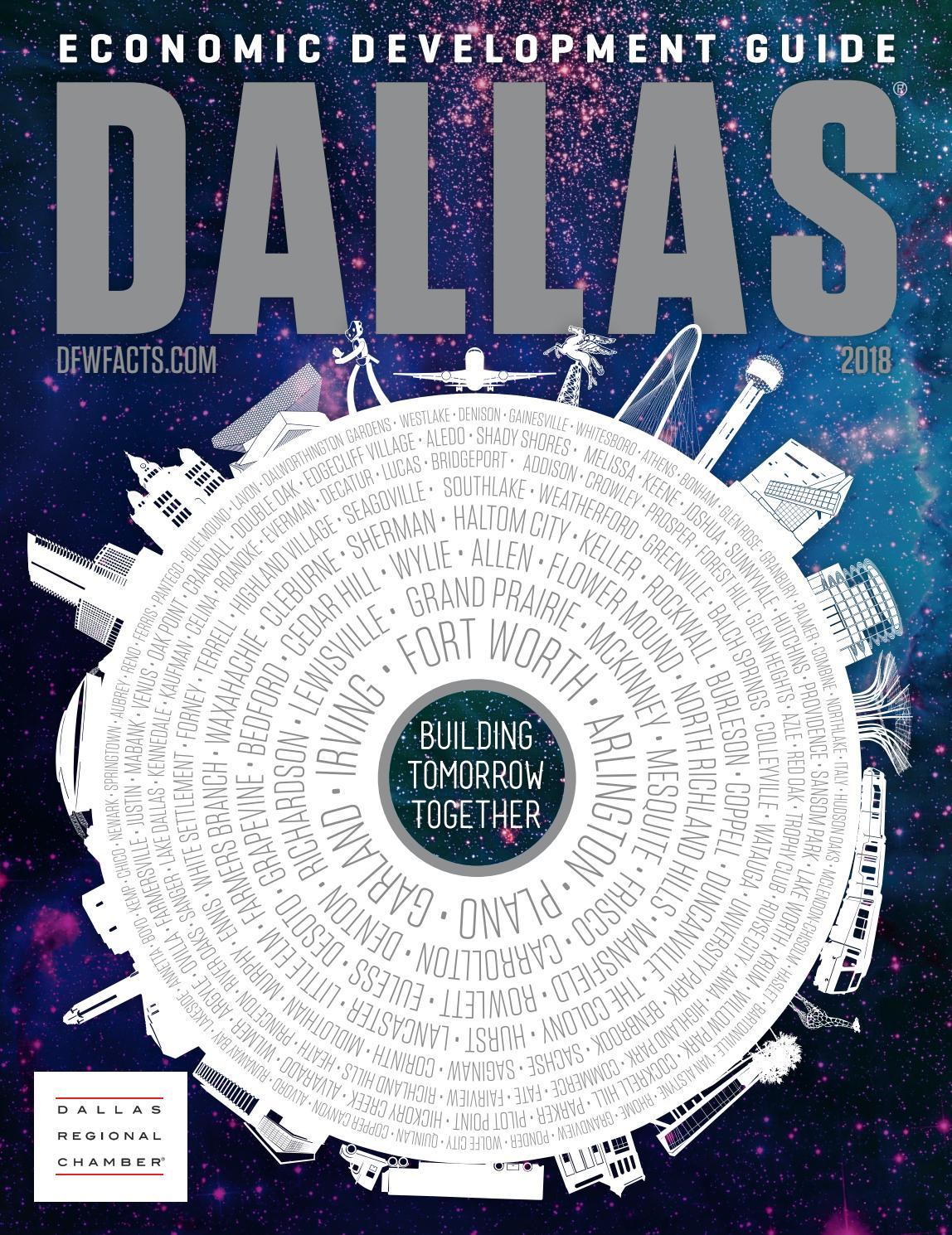 Dallas Economic Development Guide - 2018 by Dallas Regional
