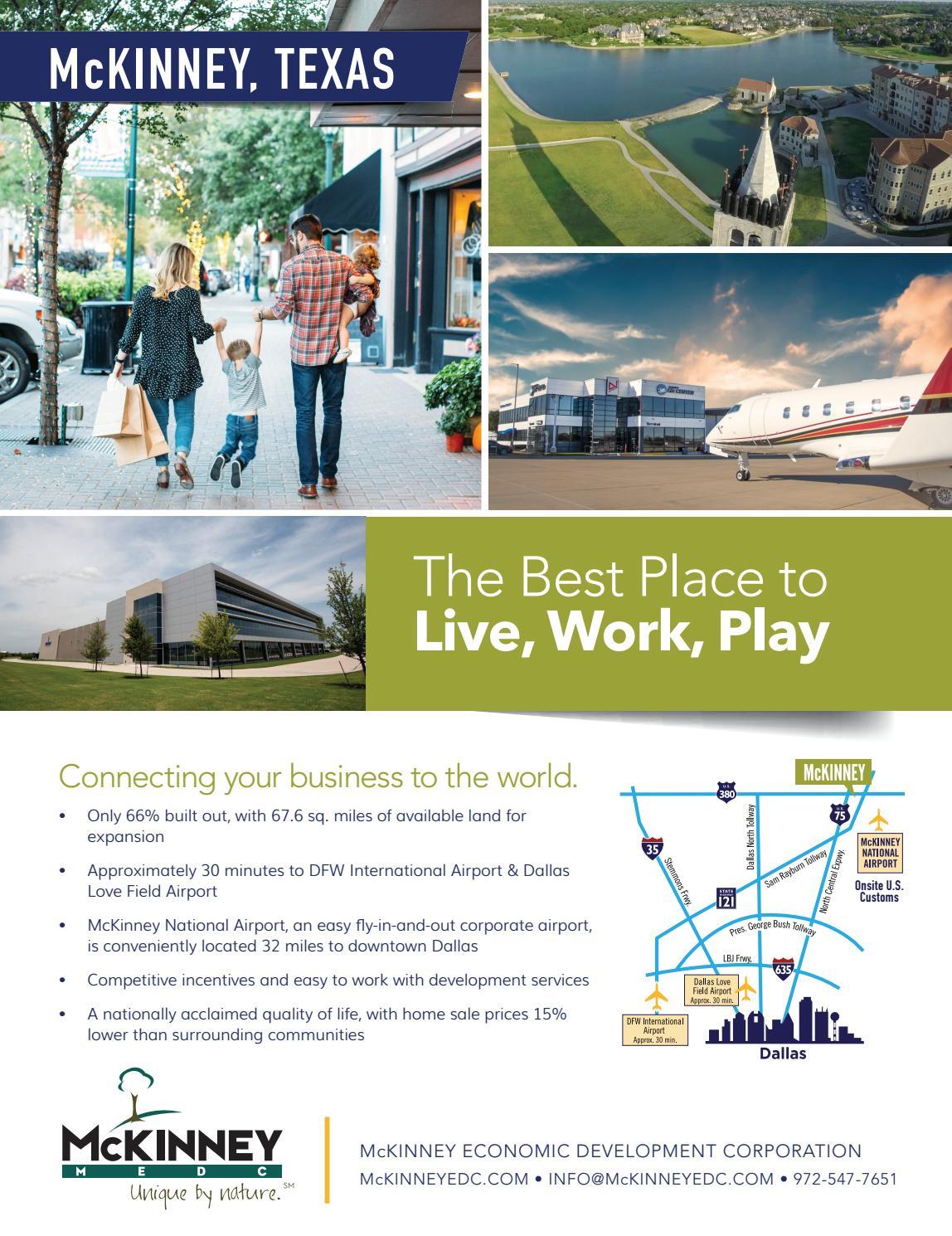 Dallas Economic Development Guide - 2018 by Dallas Regional Chamber