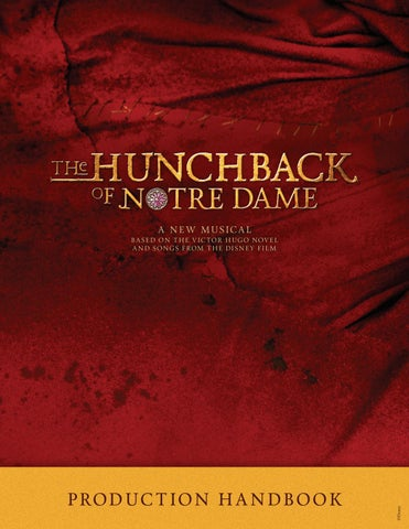 The Hunchback of Notre Dame Production Handbook by Music